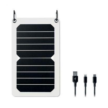 Cargador solar con tu logo