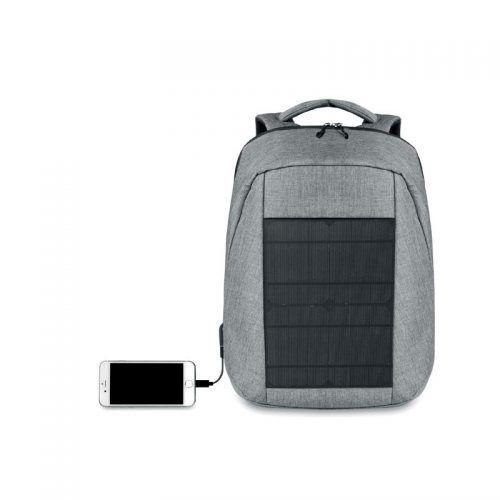 Mochila merchandising con carga solar