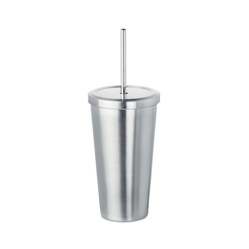 Vaso personalizable en acero