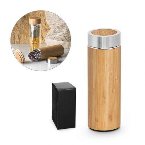 Botella de Bambú Personalizada