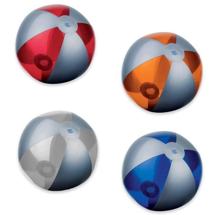 Balón playa bicolor