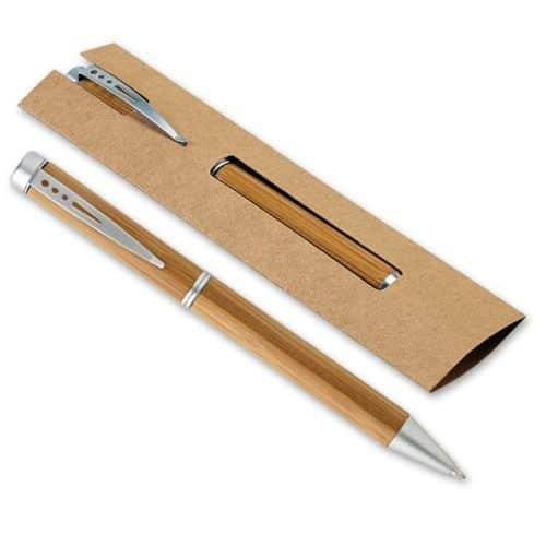 Bolígrafo bambú merchandising