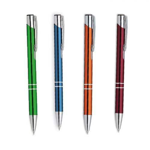 Bolígrafo cromado merchandising