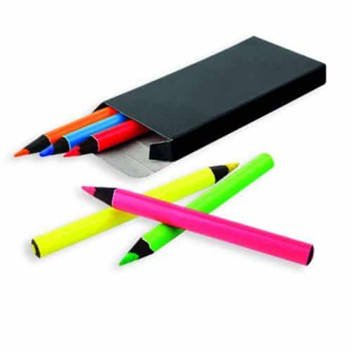 Caja de lápices con tu logo