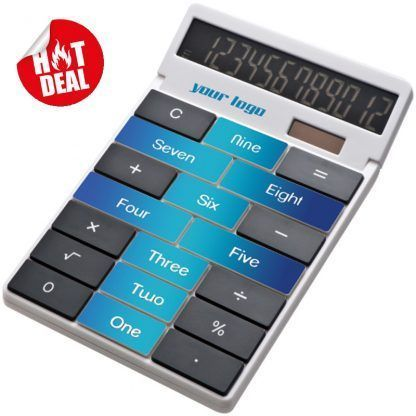 Calculadora personalizada con tu logo