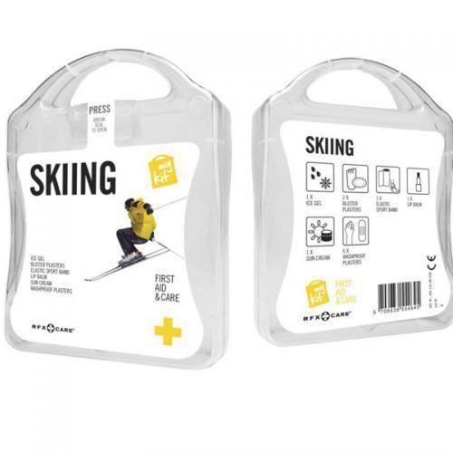 Kit para esquiadores personalizado
