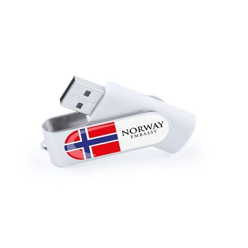USB con logo