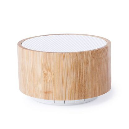 Altavoz de Bambú Personalizado