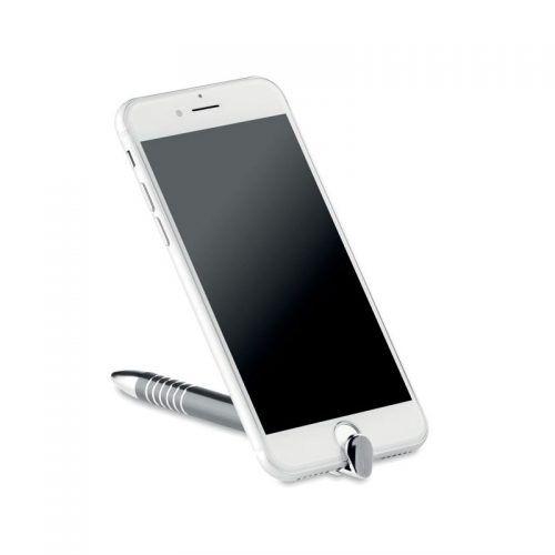 Bolígrafo con soporte para móvil