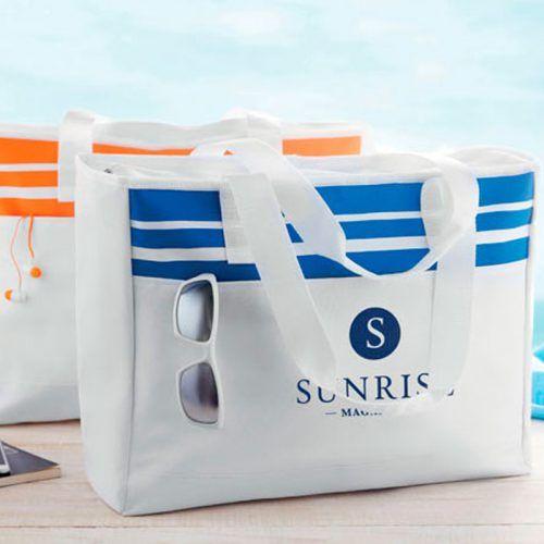 Bolsa de playa con tu logo
