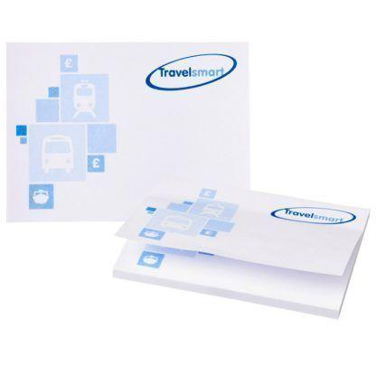 Notas rectangulares adhesivas