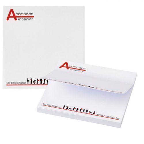 Notas adhesivas cuadradas totalmente personalizables