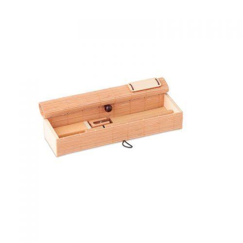 Set de escritorio en bambú