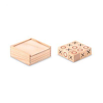 Tres en raya madera