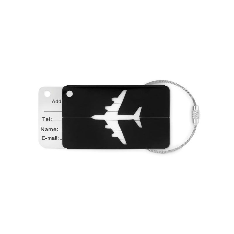 Identificador de maleta para merchandising