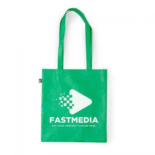 Bolsa reciclada para merchandising