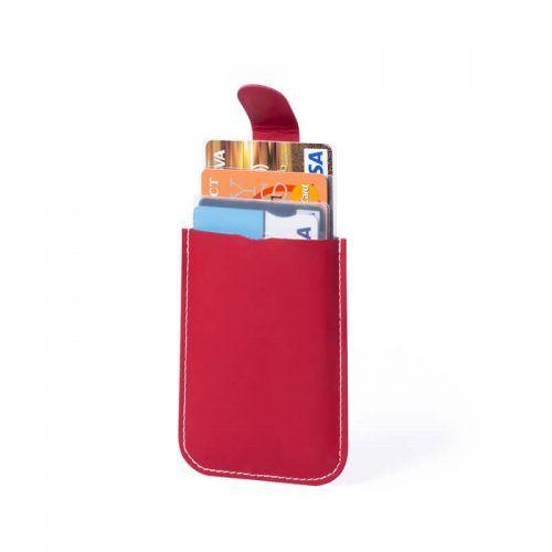 Tarjetero con protección RIFD para merchandising