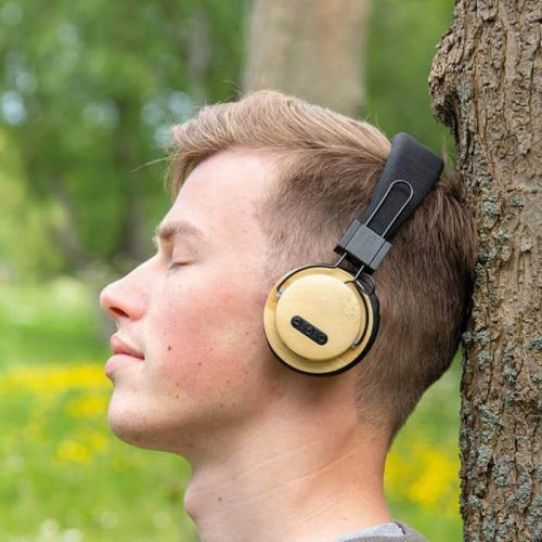 Auriculares ecológicos personalizados