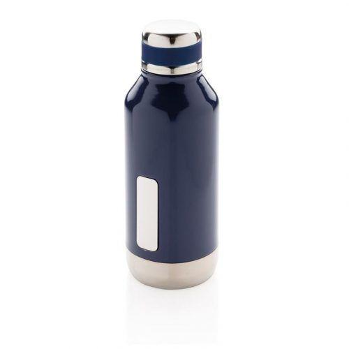 Botella al Vacío Antigoteo con Placa para Logo