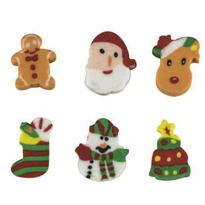 Set de gomas navideñas