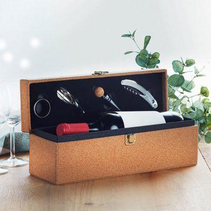 Set de vino para merchandising