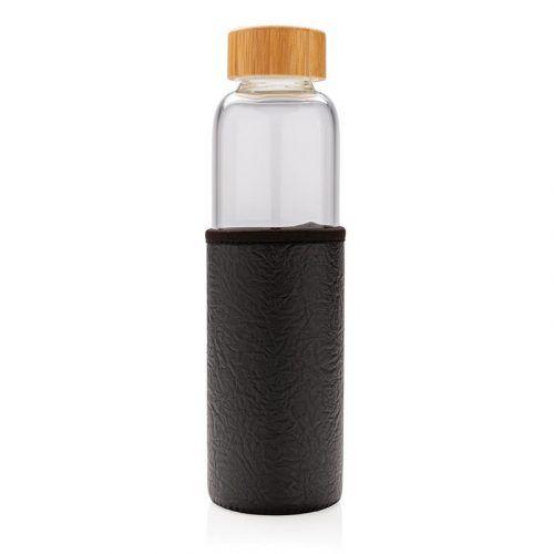 Botella de Vidrio con Funda