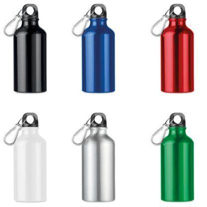 Botella de aluminio con tu logo