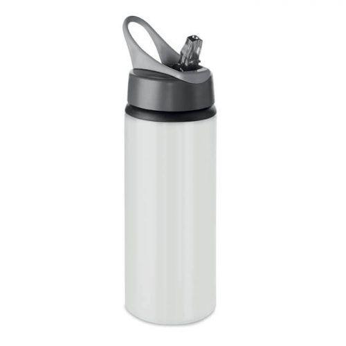 Botella personalizable con pajita