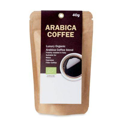 Café orgánico con tu logo