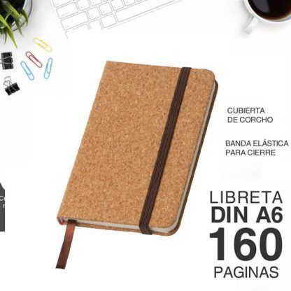 Cuaderno eco para merchan