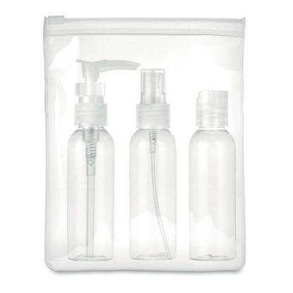 Envases para líquidos aeropuerto