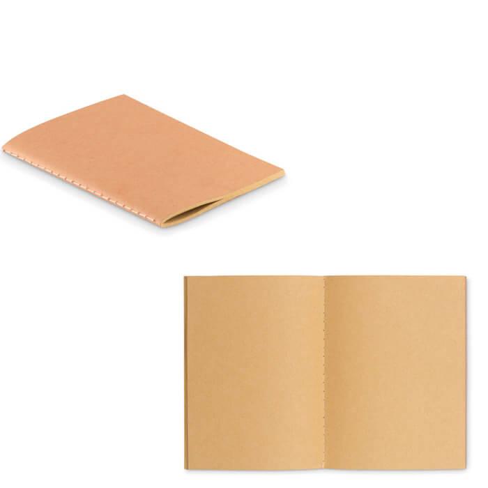 Libreta eco con tapa de cartón
