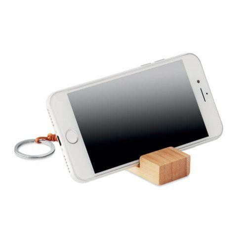 Llavero con soporte para móvil