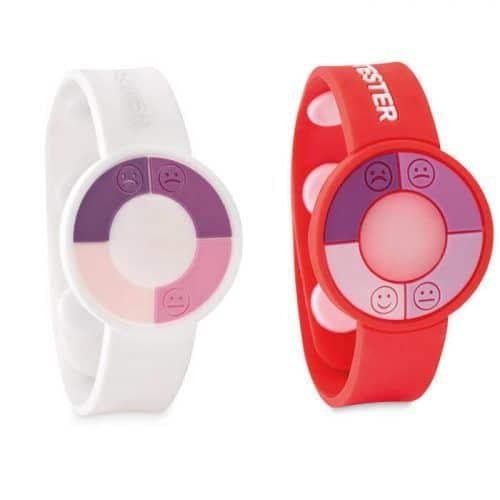 Reloj sensor UV de PVC