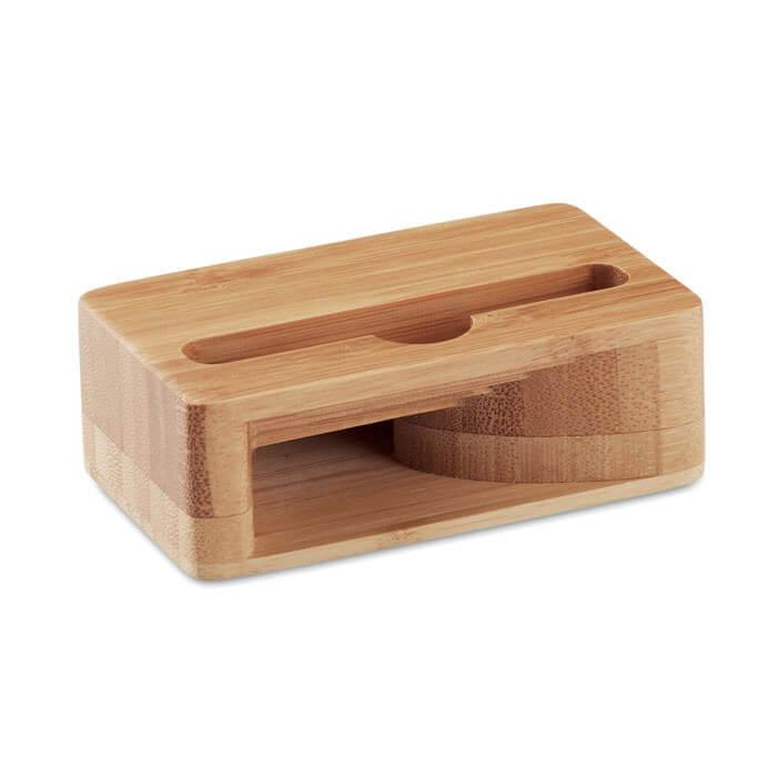Soporte móvil en bambú