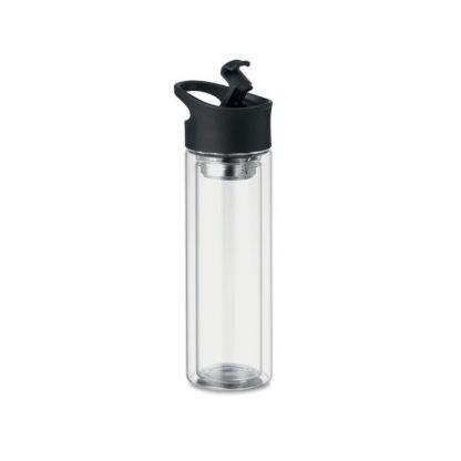 Botella de Cristal con Doble Capa Personalizada