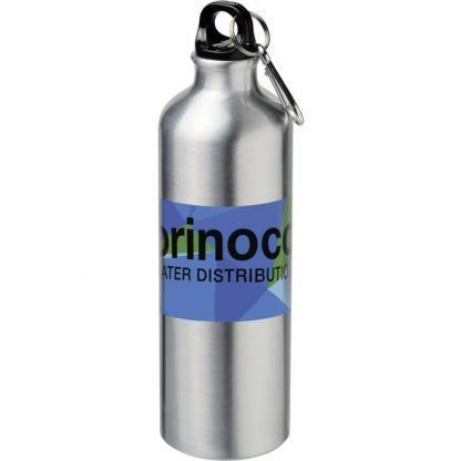 Botella deportiva de 770 ml para sublimación con mosquetón