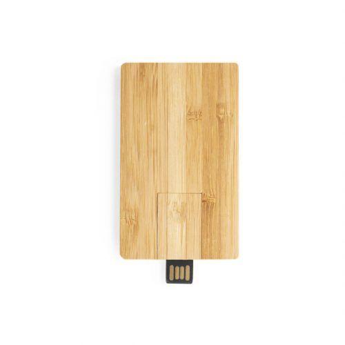 Memoria bambú Merchandising
