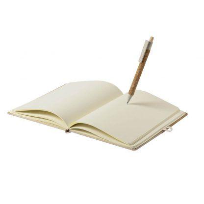 Set de libreta y bolígrafo sostenible