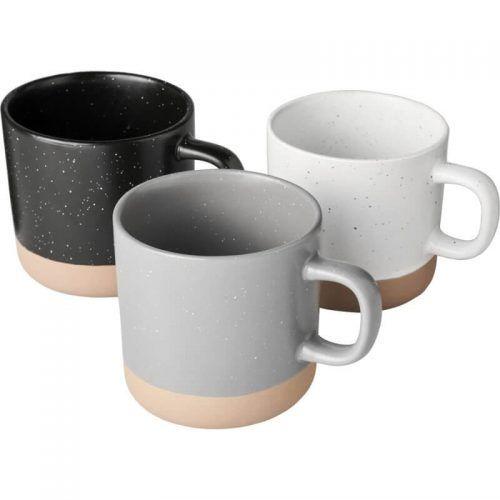 Taza cerámica bicolor merchandising