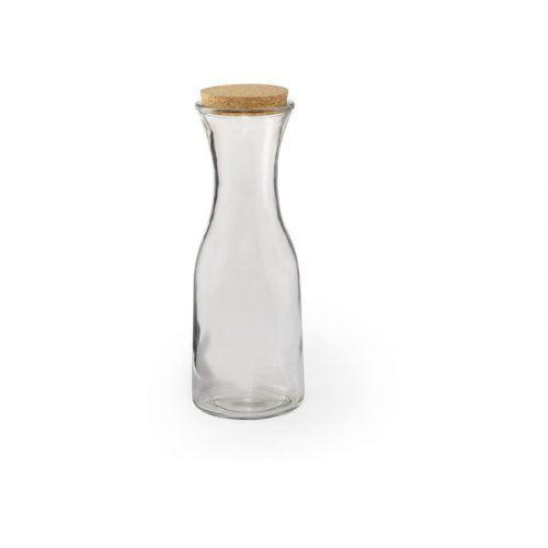 Botella Publicitaria en Cristal con Tapón de Corcho