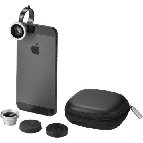 set lentes smartphone