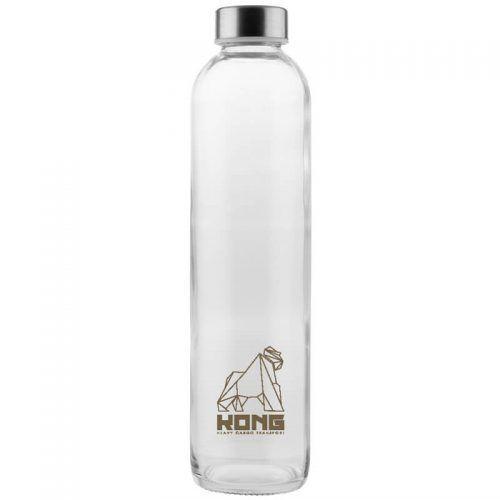 Botella Critsal Tapón Metálico