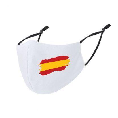 mascarilla personalizada bandera espana