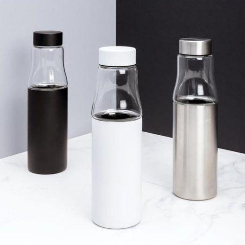 Botella Cristal Antigoteo Personalizada
