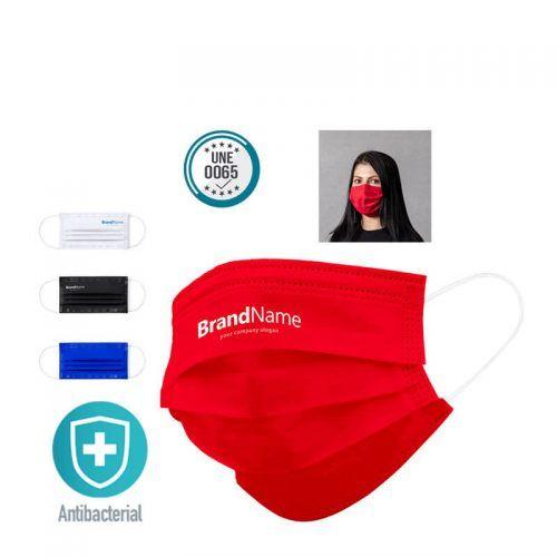 Mascarilla Reutilizable con tu Logo