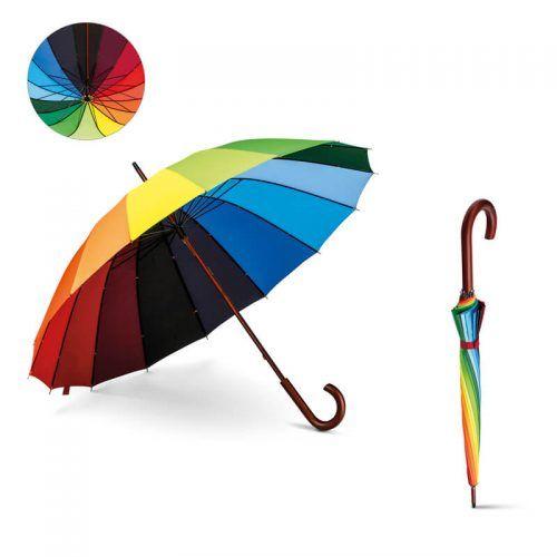 Paraguas Arco Iris Personalizado