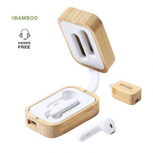 Auricular Promocional de Bambú